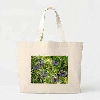 Flores de montaña bolsa tela grande