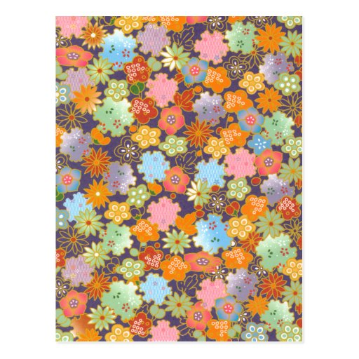 Flores de Origami Postales