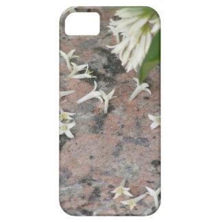 Flores de Privet en el granito iPhone 5 Funda