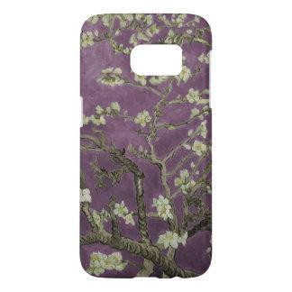 Flores de Vincent van Gogh-Púrpura Almond Funda Samsung Galaxy S7
