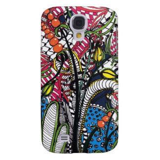 Flores de ZenTangled Samsung Galaxy S4 Cover