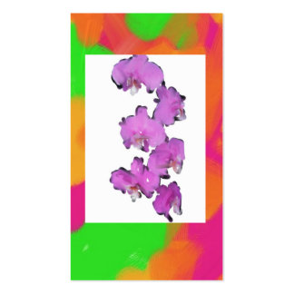 flores del amor tarjetas de visita