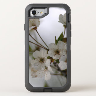 Flores del árbol de la primavera funda OtterBox defender para iPhone 7
