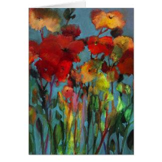 Flores del campo • Michelle Abrams - tarjeta