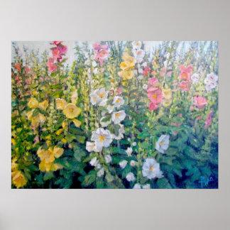 Flores del catálogo póster