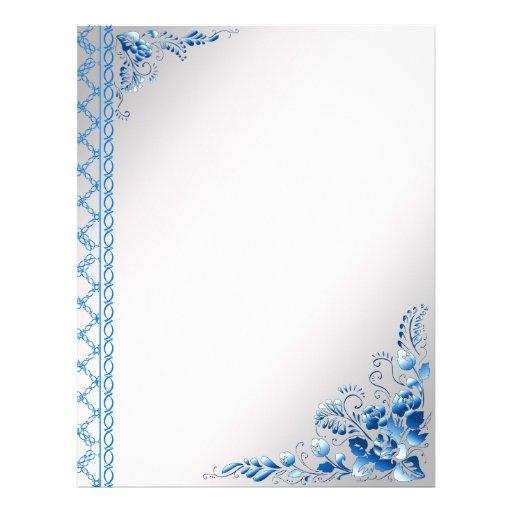 Flores del color de los azules marinos del fondo tarjetas ...