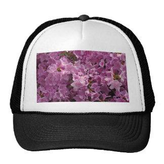 Flores del rododendro de Violett Gorras