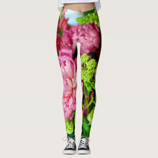 Flores del verano leggings