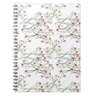 flores dulces cuaderno