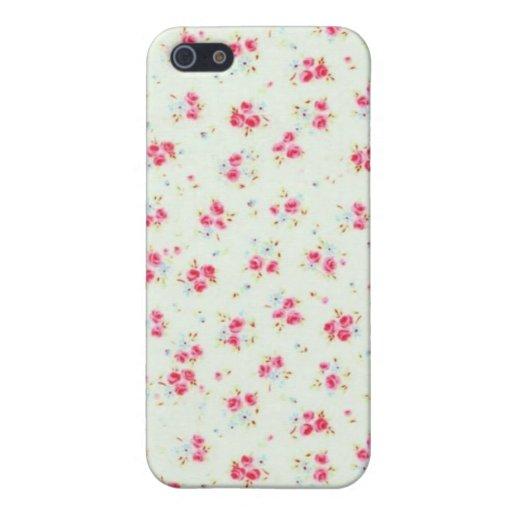 Flores elegantes color de rosa lamentables florale iphone - Fundas nordicas elegantes ...
