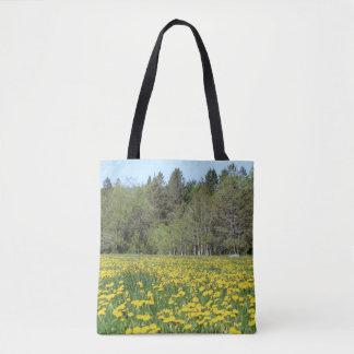 Flores en bolso de mano de New Hampshire