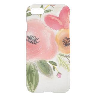 Flores en colores pastel funda para iPhone 7