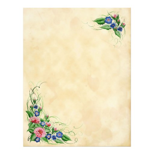 Flores finas tarjetas publicitarias de Zazzle.