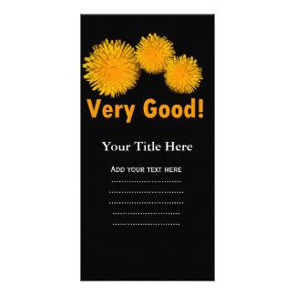 Flores hermosas de la margarita del amarillo del tarjetas fotográficas