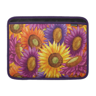 Flores hermosas de Sun Funda Para Macbook Air