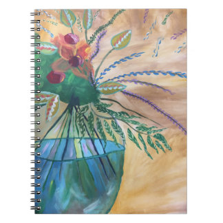 Flores Libreta Espiral