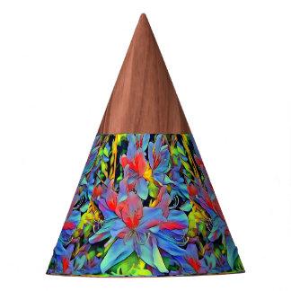 Flores maravillosas florales de ArtStudio Gorro De Fiesta
