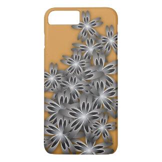 Flores Negro-Blancas Funda iPhone 7 Plus