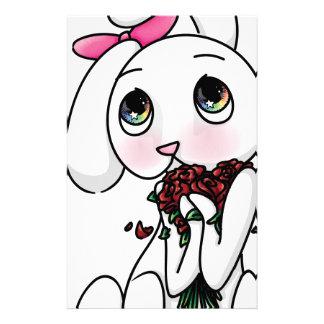 ¿Flores para mí? Papelería Personalizada