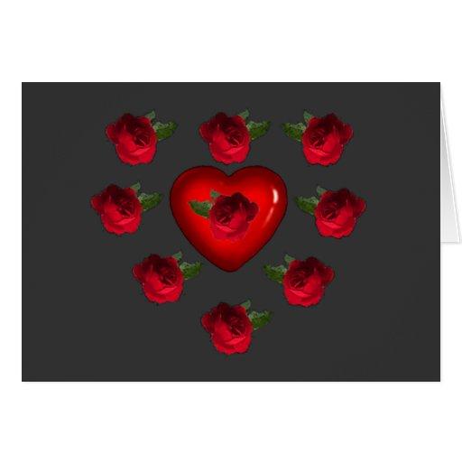 Flores para Valentin - Tarjetón