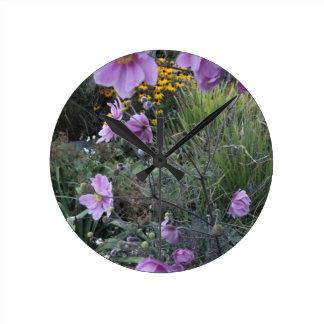 Flores por la charca. Reloj