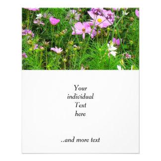 flores preciosas del jardín 03 tarjetas publicitarias
