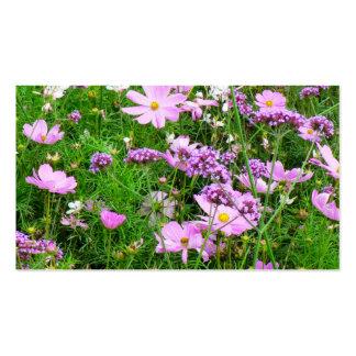 flores preciosas del jardín, 03 tarjeta de negocio