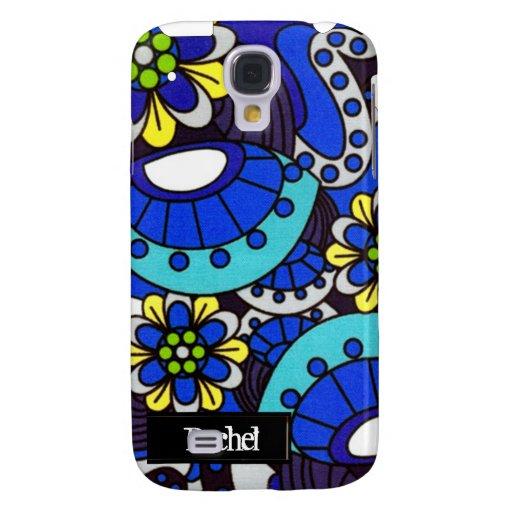 Flores retras azules iPhone3G