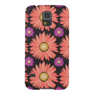 Flores rosadas de la margarita de Gerber en Carcasa Galaxy S5