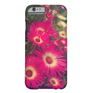 Flores rosadas funda barely there iPhone 6