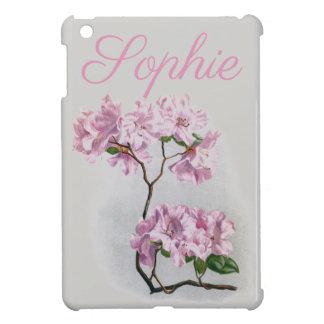 Flores rosadas Personnalised del vintage/del