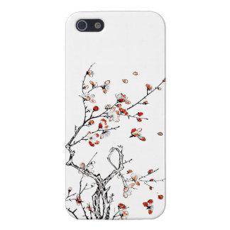 Flores salvajes japoneses 03 iPhone 5 coberturas