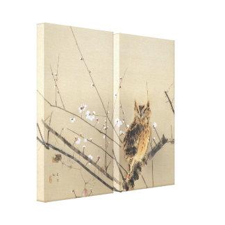 Flores tempranos del ciruelo de Nishimura Goun, Impresión En Lienzo Estirada