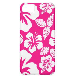 Flores tropicales rosadas brillantes del hibisco