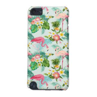 Flores y pájaros tropicales del vintage funda para iPod touch 5