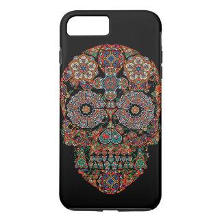 Florezca la caja más del iPhone 7 duros del cráneo Funda iPhone 7 Plus