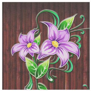 Florezca la decoración 5 y la tela del telas