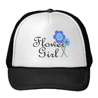 Florista de la margarita azul gorro de camionero