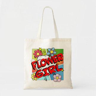 Florista del super héroe bolso de tela