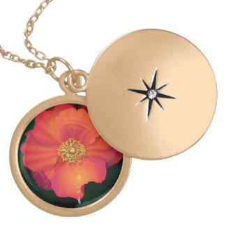 florista en oro medallones