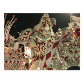 Flotador del Harlequin en carnaval en Río Postales