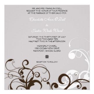flourish; bodas de plata comunicado personalizado