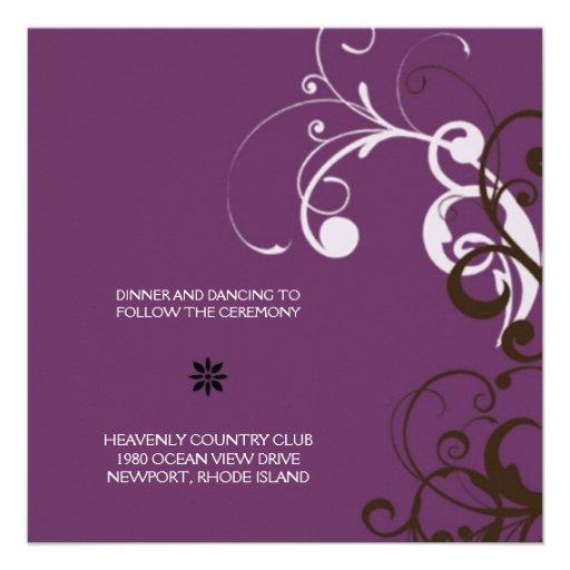 flourish; recepción púrpura comunicado personal