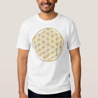 Flower Of Life | de oro big Camiseta