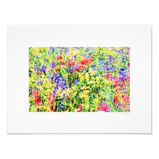 "Flower power 16"" X12 "" Arte Con Fotos"