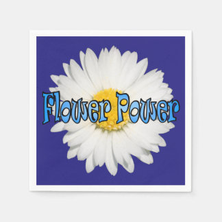 Flower power 3 servilletas desechables