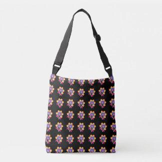 Flower power… ;) bolsa cruzada