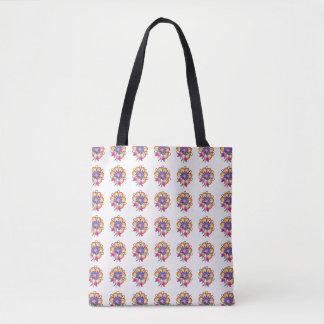 Flower power… ;) bolsa de tela