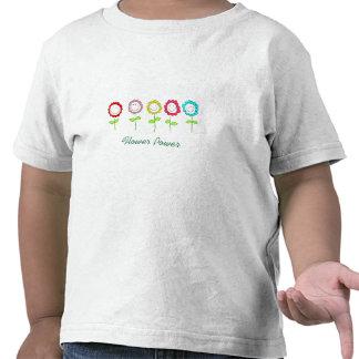 Flower power camiseta