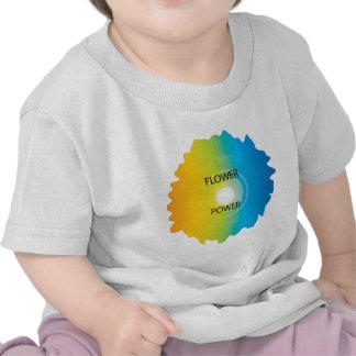 flower power camisetas